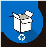 Recuperamos una media de 20000 toneladas de cartón al año